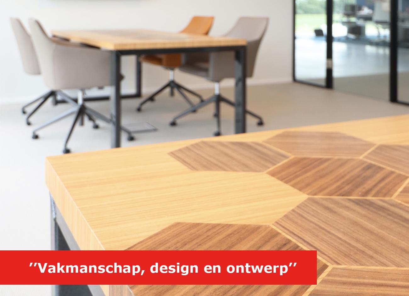 Gefineerde tafel met ontwerp